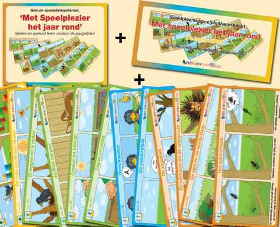 Speelplankaartenset: 'Met Speelplezier het jaar rond'