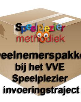 Deelnemerspakket bij het VVE Speelplezier invoeringstraject