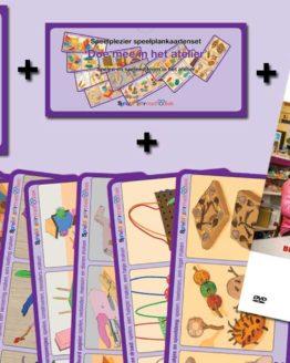 AANBIEDING Speelplankaartenset + Instructie DVD