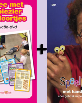 Kortingspakket DVD Handpantomime & Speelplezier tussendoortjes